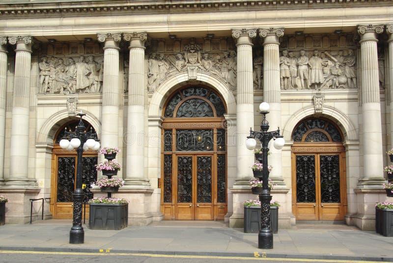 Câmaras da cidade, Glasgow fotografia de stock