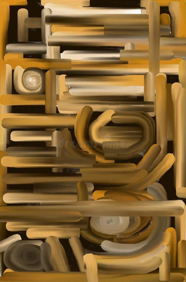 Download Câmaras De Ar Grossas Da Textura Do Petróleo De Brown Foto de Stock - Imagem de marrom, madeira: 104890