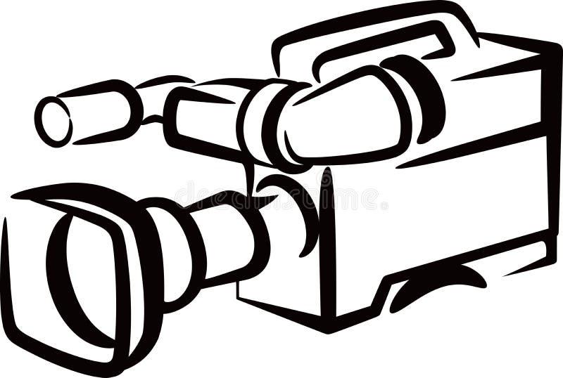 Câmera ilustração stock