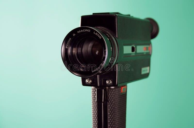 Câmera 8mm fotografia de stock