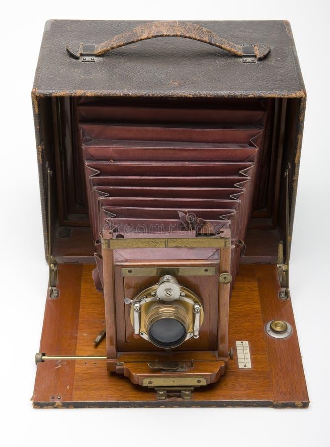 Câmera antiga fotografia de stock