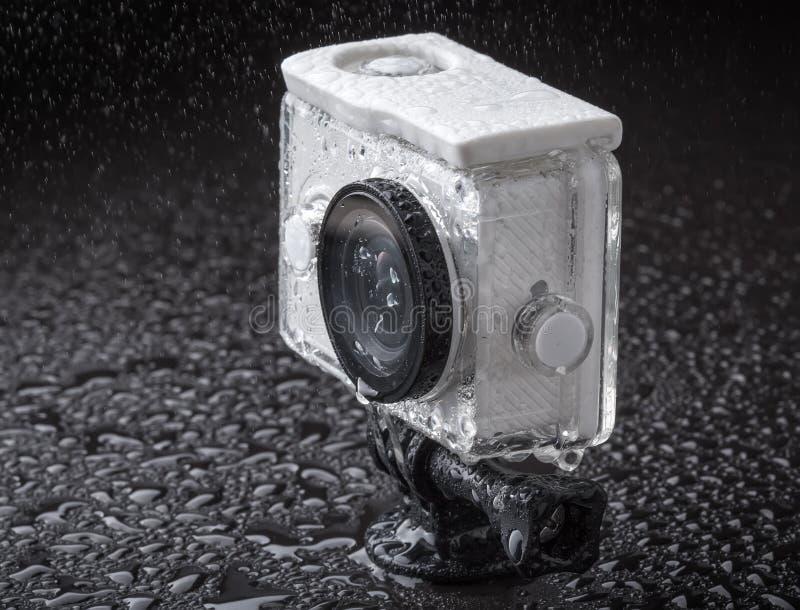 Câmera da ação foto de stock