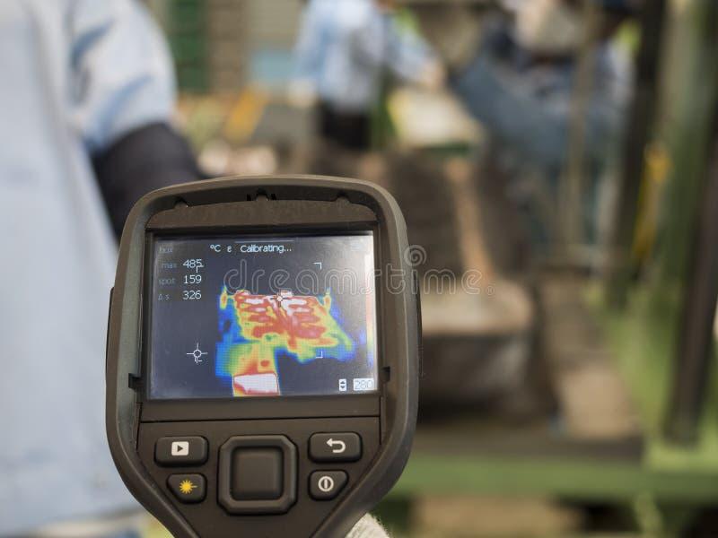 Câmera da imagiologia térmica fotografia de stock royalty free