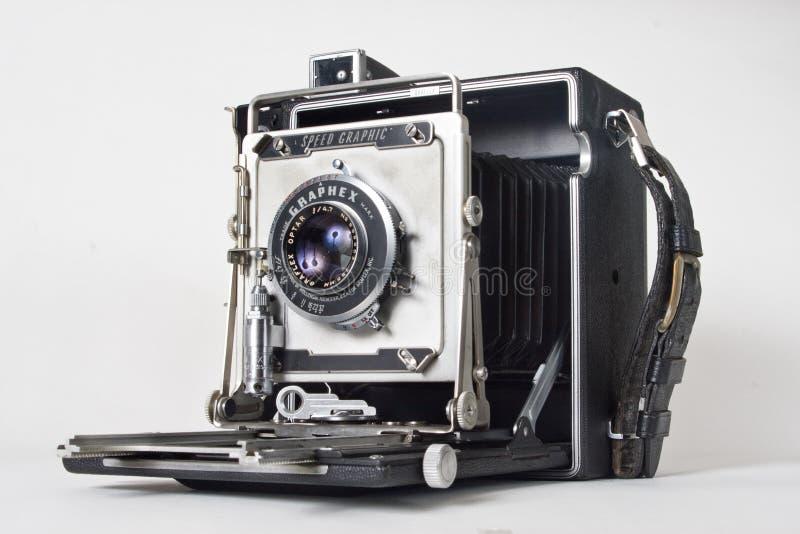 câmera da imprensa dos anos 40 imagens de stock royalty free