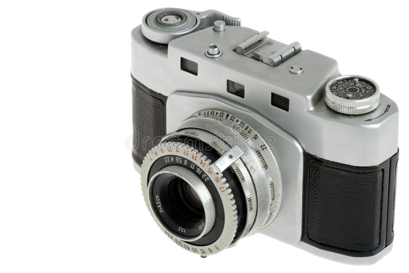 Câmera da película imagens de stock