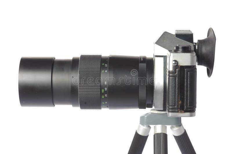 câmera de 35 milímetros imagens de stock