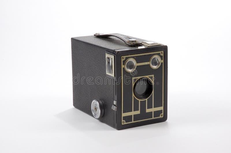 Câmera de caixa imagem de stock royalty free