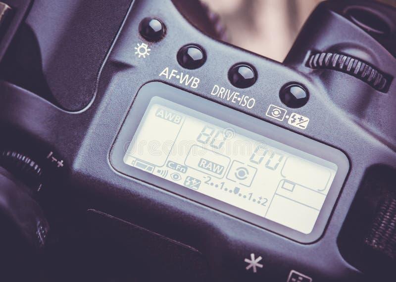 Câmera de Digitas DSLR fotos de stock royalty free