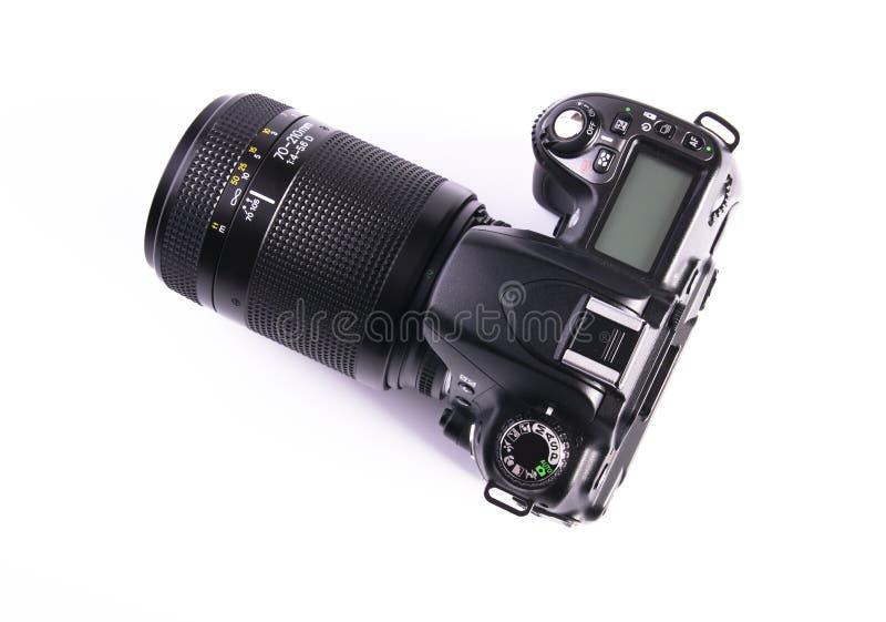 Download Câmera de DSLR imagem de stock. Imagem de mercadoria - 12807885