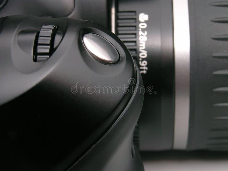 Câmera de DSLR imagens de stock royalty free