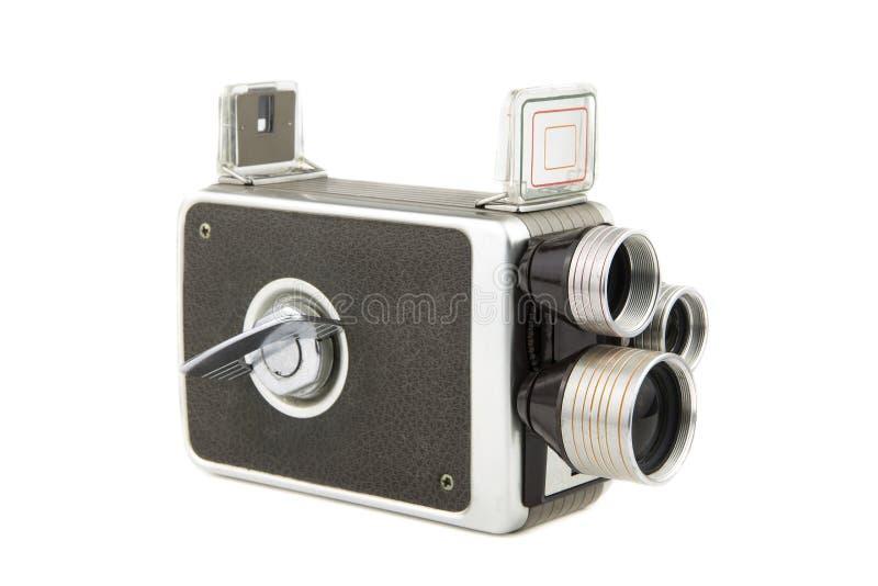 Câmera de filme amadora do vintage fotografia de stock royalty free
