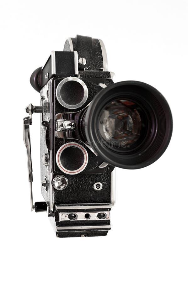 Câmera de filme velha foto de stock royalty free