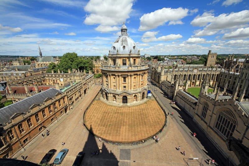 Câmera de Radcliffe, Oxford, Inglaterra foto de stock