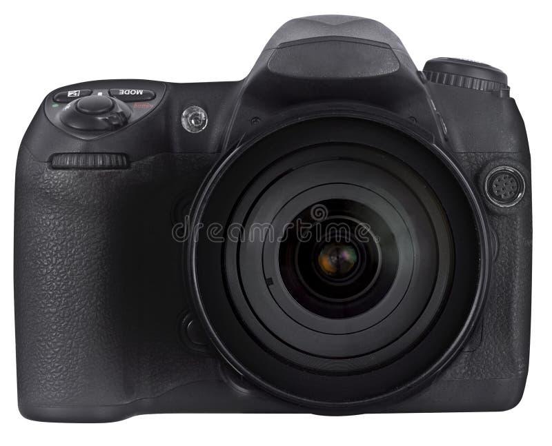 Câmera de reflexo da única lente de Digitas imagens de stock