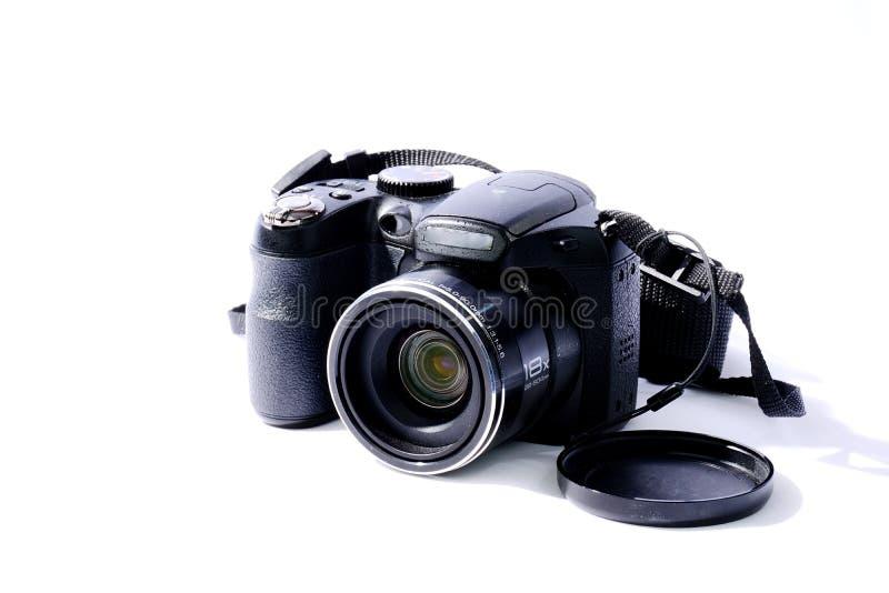 Câmera de reflexo da única lente de Digitas imagem de stock
