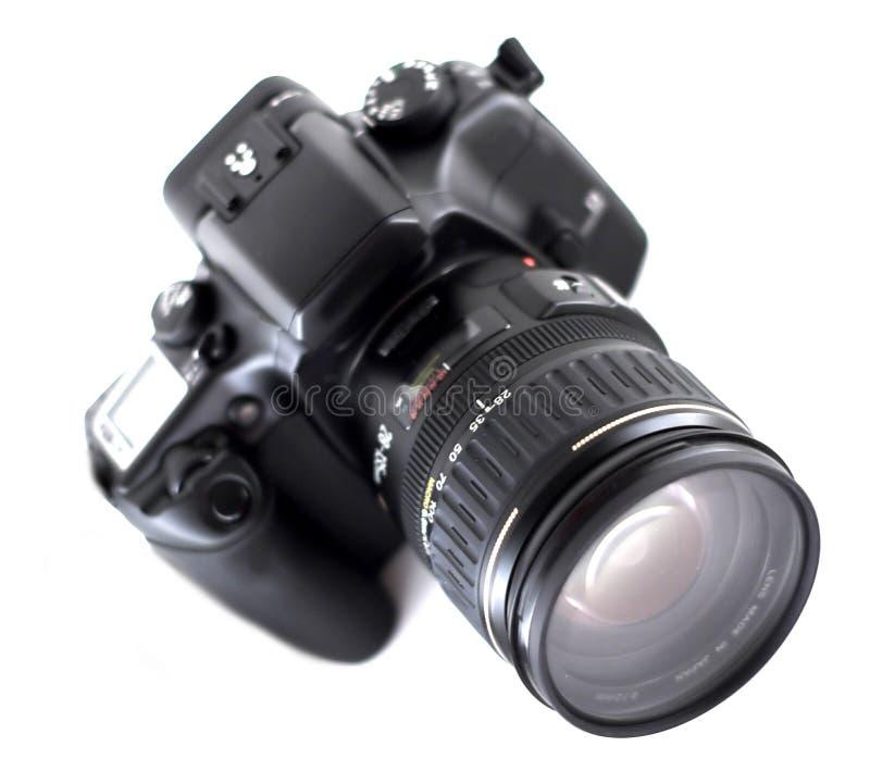 Câmera de SLR fotografia de stock royalty free