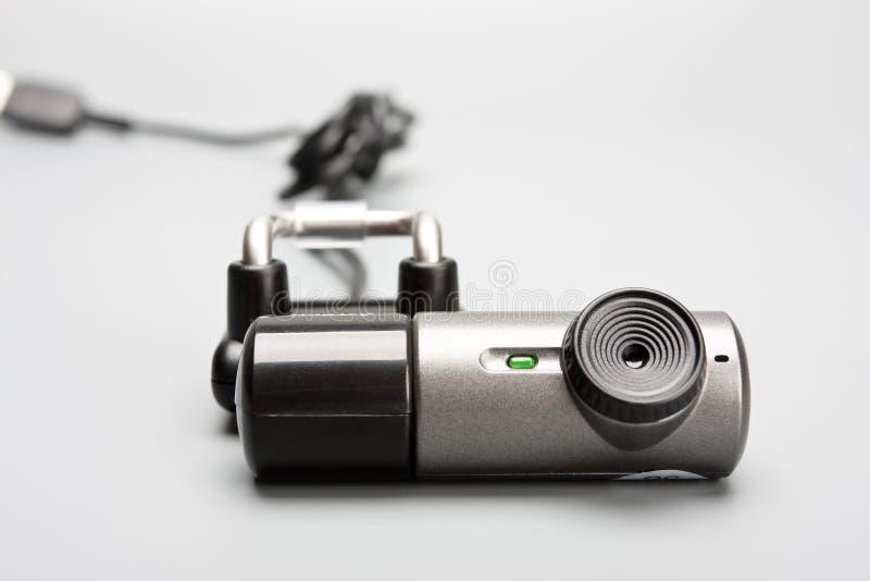 Câmera de Web foto de stock