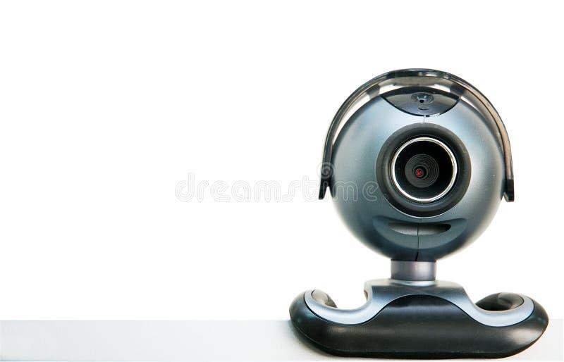 Câmera de Web fotografia de stock