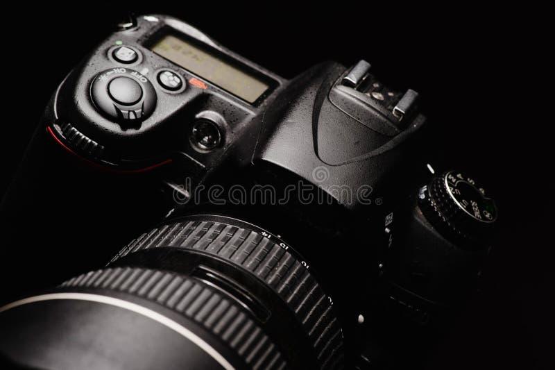 Câmera digital profissional da foto imagens de stock