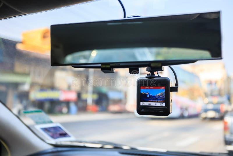 Câmera do carro do CCTV foto de stock