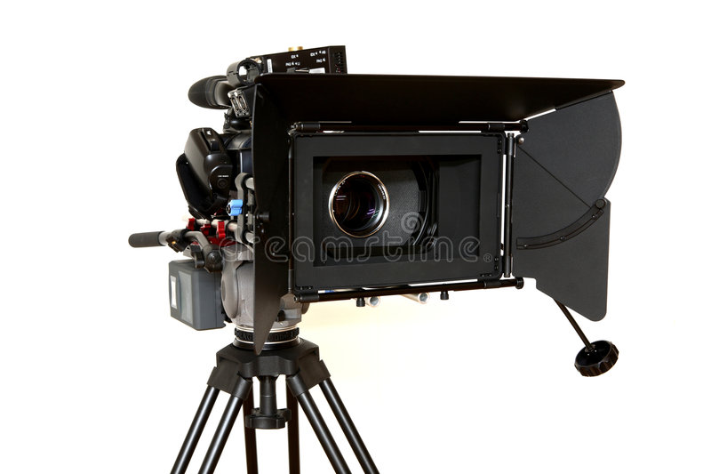 Câmera do cinema de Digitas fotos de stock royalty free
