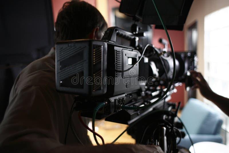 Câmera do cinema de Digitas fotos de stock