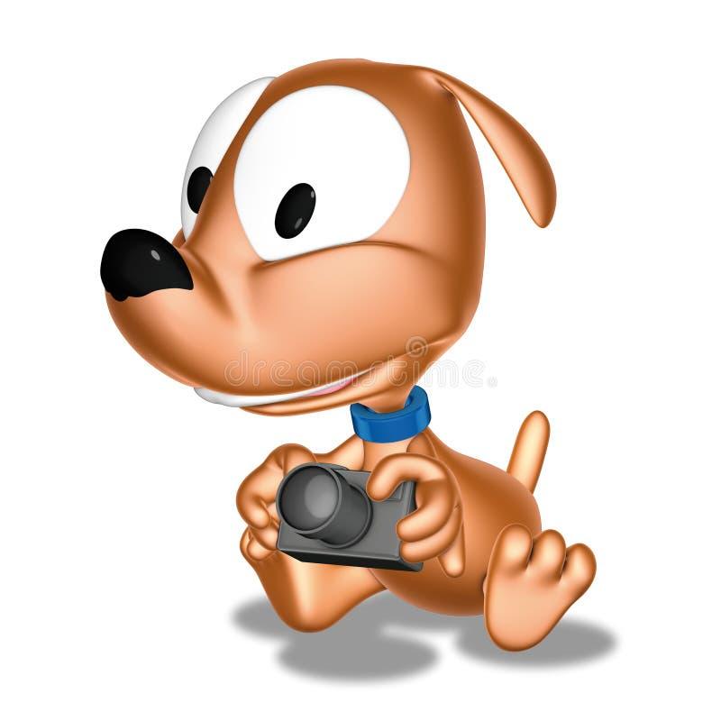 Câmera do Doggy ilustração do vetor