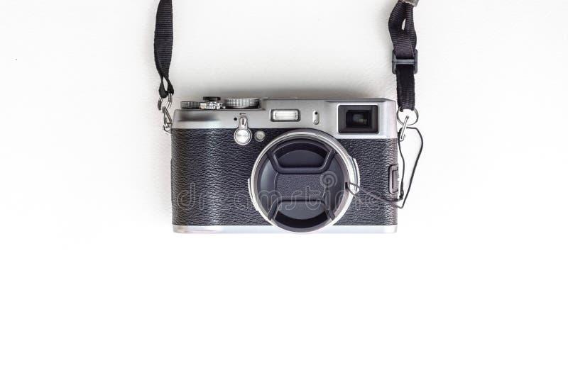 Câmera do estilo do vintage imagem de stock royalty free
