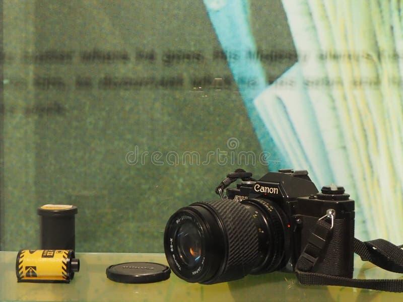 Câmera do filme dos €™s do rei Rama Ninthâ foto de stock