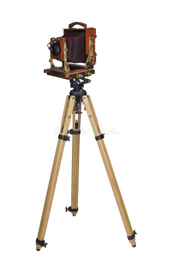 Câmera do grande formato fotografia de stock