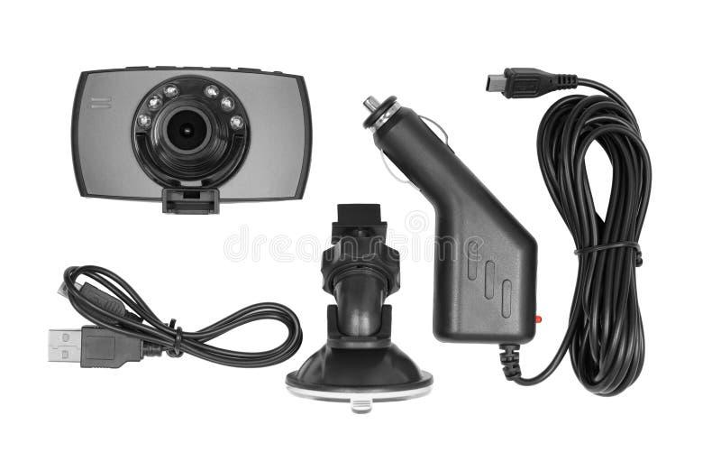 Câmera do painel isolada no branco foto de stock
