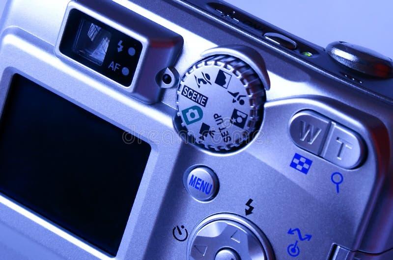 Câmera do ponto e do tiro imagem de stock royalty free