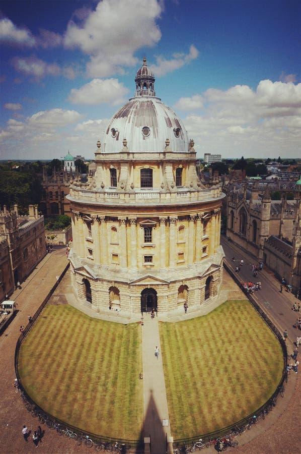 câmera do radcliffe, universidade de oxford imagens de stock royalty free