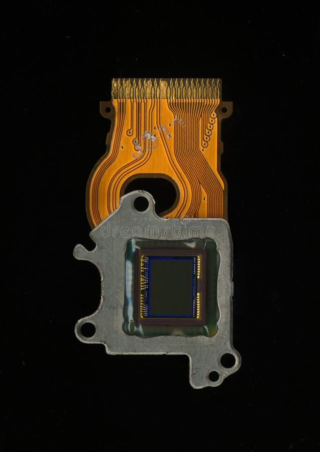 Câmera do sensor da imagem imagem de stock