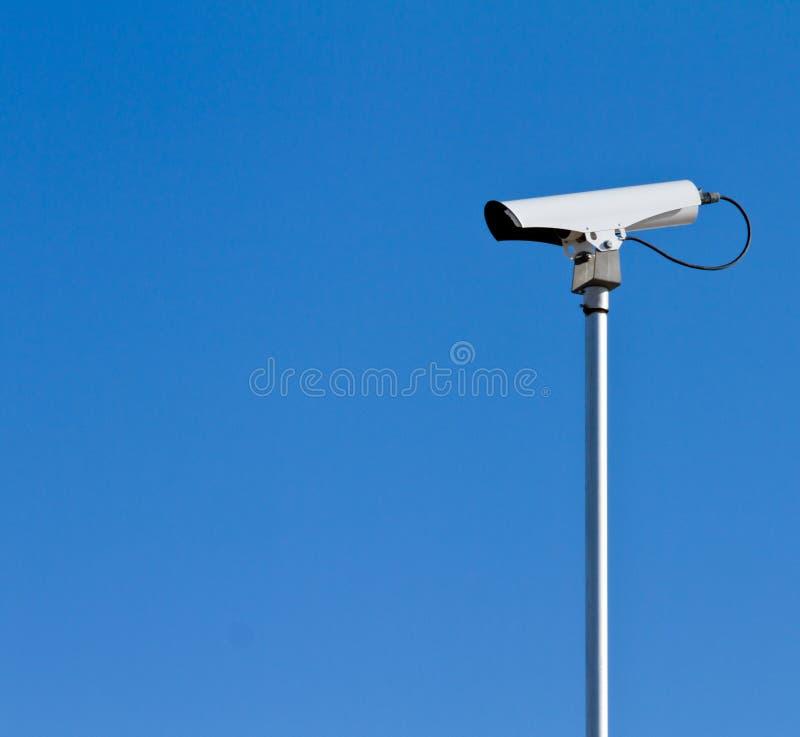 Câmera do tráfego foto de stock