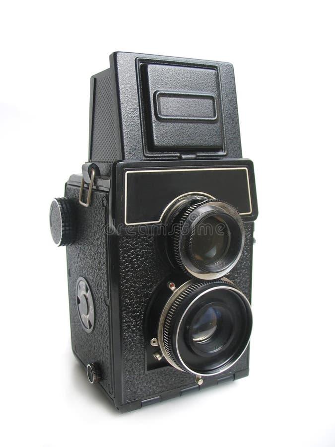 Câmera do vintage fotografia de stock royalty free