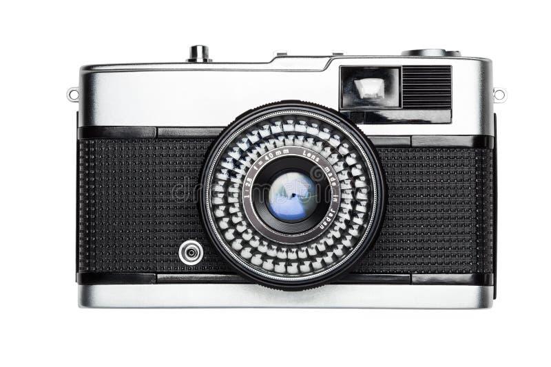 Câmera do vintage fotografia de stock
