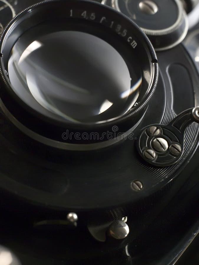 Câmera fotográfica velha foto de stock royalty free