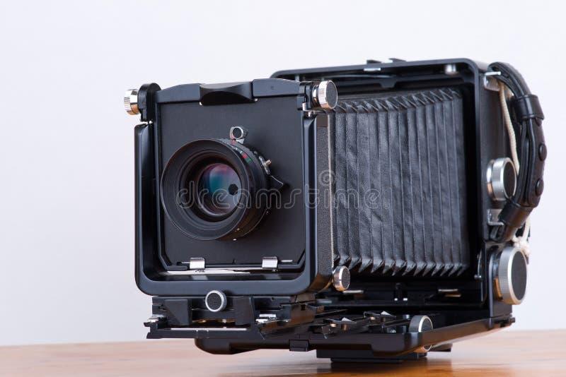 câmera grande do formato 4x5 fotografia de stock