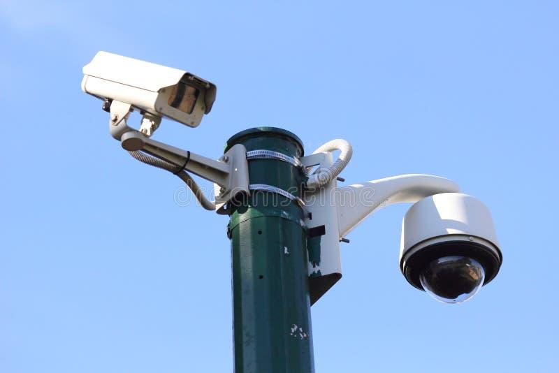Câmera moderna da monitoração fotos de stock