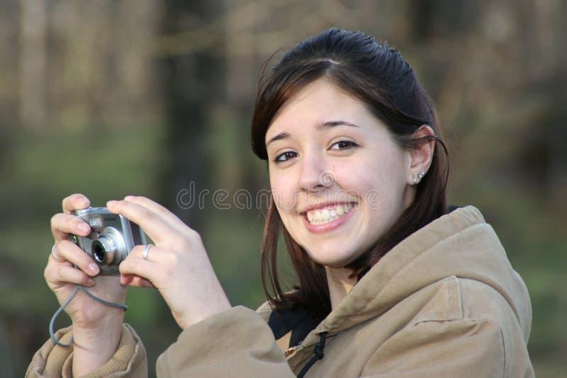Câmera nova imagens de stock