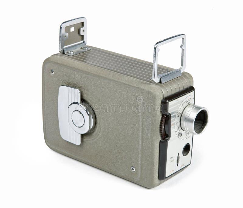 Câmera retro de 8mm imagens de stock