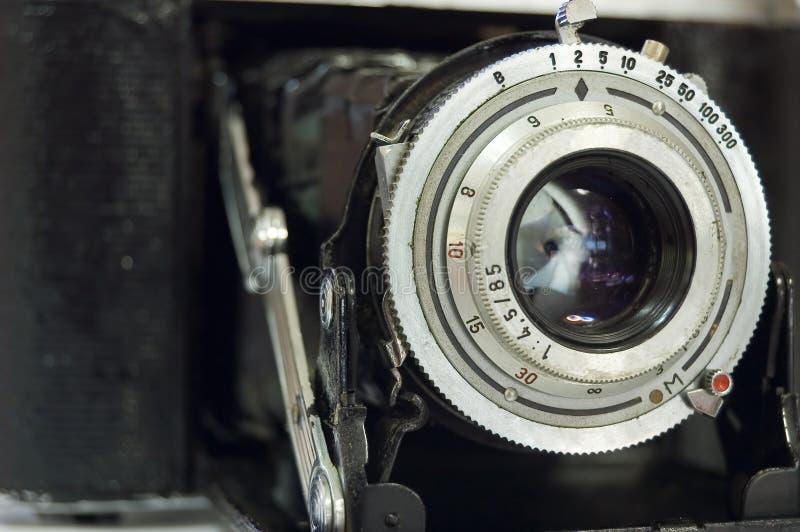 Câmera retro do Rangefinder foto de stock
