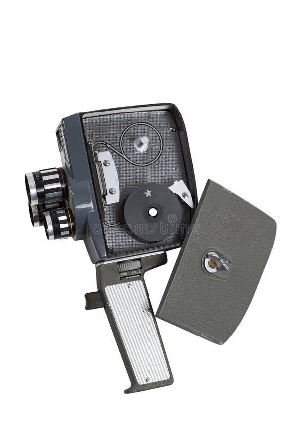 Câmera 1950 super de oito filmes do vintage imagem de stock royalty free