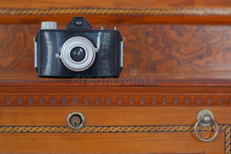 Câmera velha fotos de stock