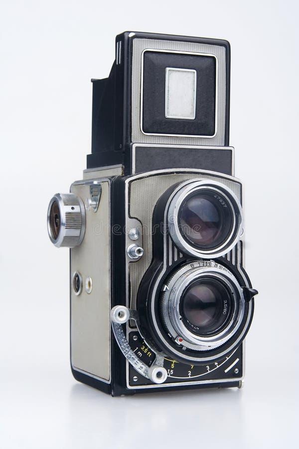 Câmera velha. imagens de stock