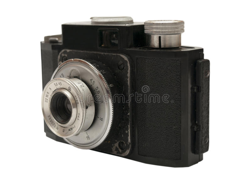 Câmera velha foto de stock royalty free