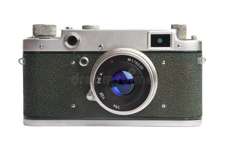 Câmera velha - 1950-1960 anos fotografia de stock