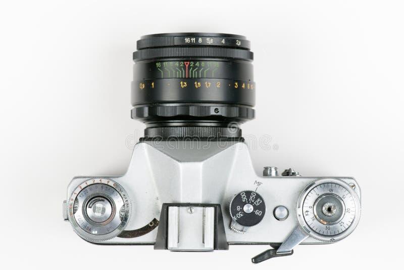 Câmera velha de 35mm imagem de stock royalty free