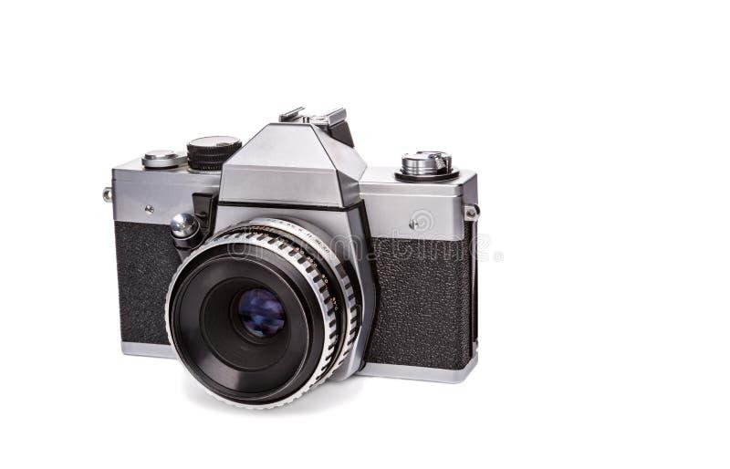 Câmera velha do filme imagem de stock